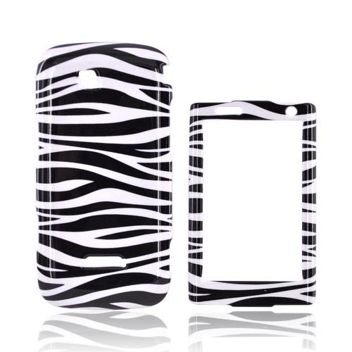 Samsung Sidekick 4G Hard Case - Black & White Zebra