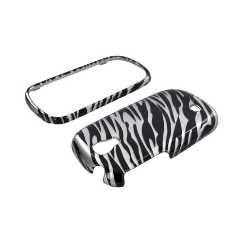 Samsung Gravity Smart Hard Case - Silver/ Black Zebra