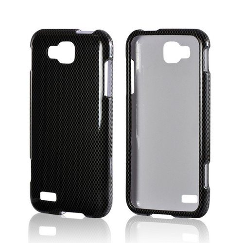 Black/ Gray Carbon Fiber Design Hard Case for Samsung ATIV S T899