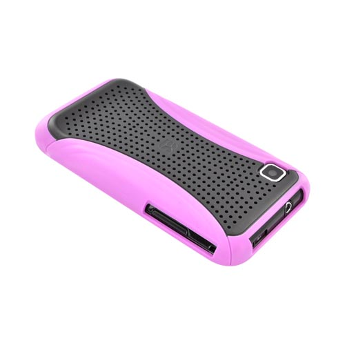 Samsung Vibrant T959 Hard Case - Xmatrix Purple/ Black