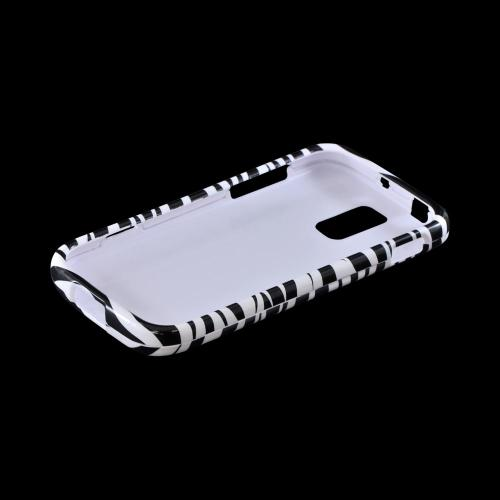 T-Mobile Samsung Galaxy S2 Hard Case - Black/ White Zebra
