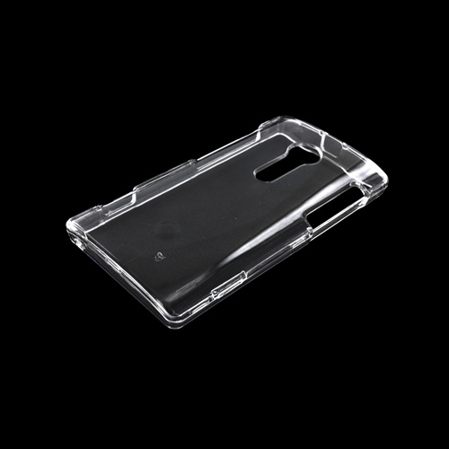 Sony Xperia Ion T28i Hard Case - Transparent Clear