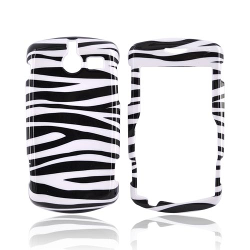 ZTE TXTM8 3G A410 Hard Case - Black/White Zebra