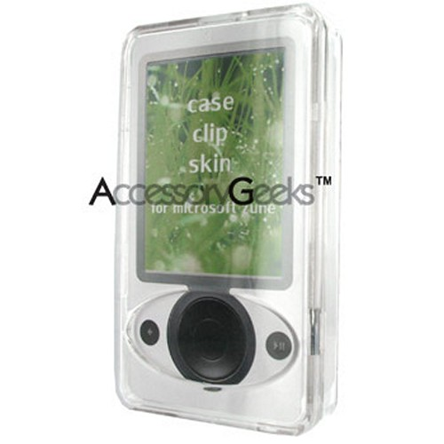 Microsoft Zune Crystal Hard Case (30GB) - Transparent Clear
