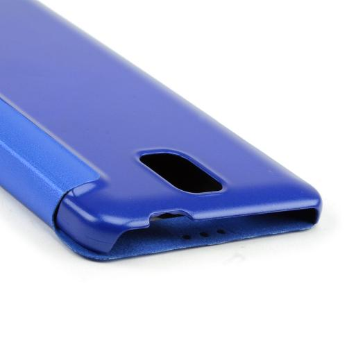 Galaxy Note 3 Case, [Blue] Flip Cover Case with ID Slots for Samsung Galaxy Note 3