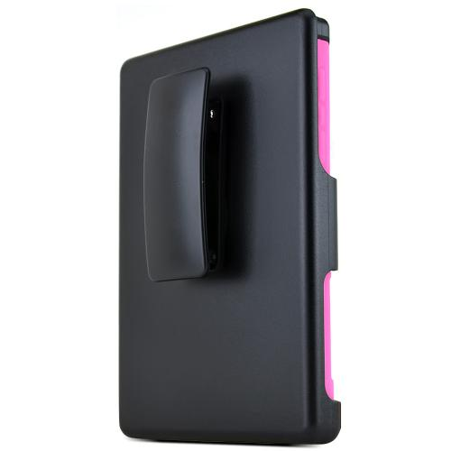 Blackberry Passport Hybrid Case [hot Pink / Black] Heavy Duty Protective Dual Layer Rugged Bumper Hybrid Case