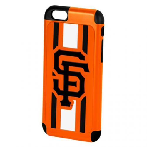 Apple iPhone 6/6S (4.7 inch) MLB Case, Slim Dual layer Hybrid Hard Case on TPU Case [San Francisco Giants]