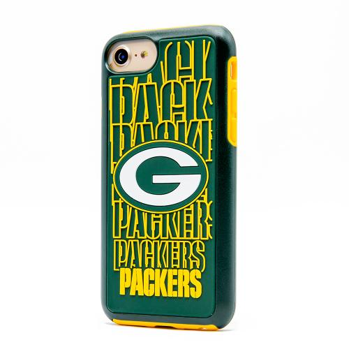 Apple iPhone 7 (4.7 inch) NFL Case, Slim Dual layer Hybrid Hard Case on TPU Case [Green Bay Packers]