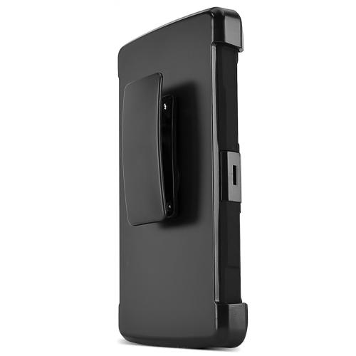 LG G4 Case, REDshield [Black] Heavy Duty Dual Layer Hybrid Holster Case with Kickstand and Locking Belt Swivel Clip