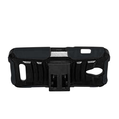 ZTE Obsidian Holster Case, [Black] Supreme Protection Plastic on Silicone Dual Layer Hybrid Case