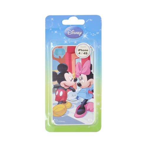 Original Disney AT&T/ Verizon Apple iPhone 4, iPhone 4S Hard Case - Mickey & Minnie Mouse Walking