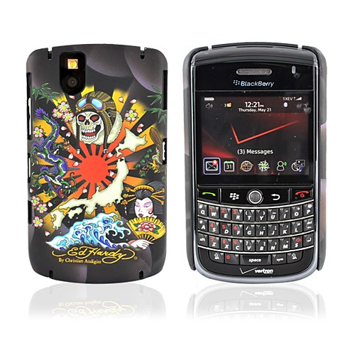 Original Ed Hardy Blackberry Tour 9630 Tattoo Faceplate Back Cover Case - Kamikaze Design