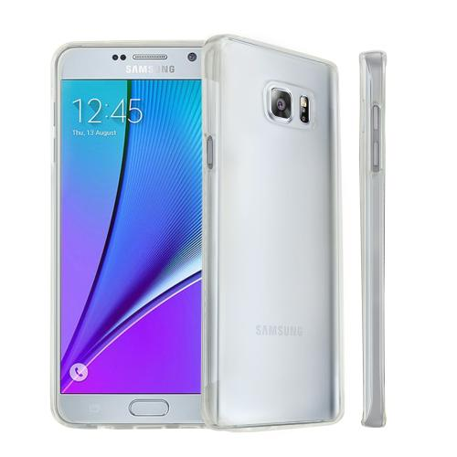 Samsung Galaxy Note 5 Case, [REDshield] Crystal Back Bumper Case [Drop Protection][Clear] Flexible Border Case