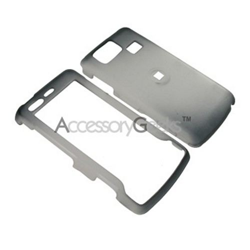 LG Versa Icy Hard Case - Black/Clear