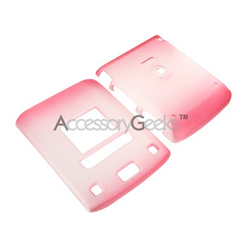 LG Lotus Icy Hard Case - Red/Clear