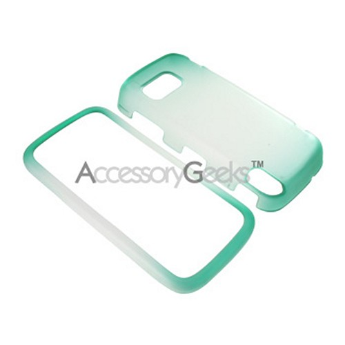 Nokia XpressMusic 5800 Icy Hard Case - Green/Clear