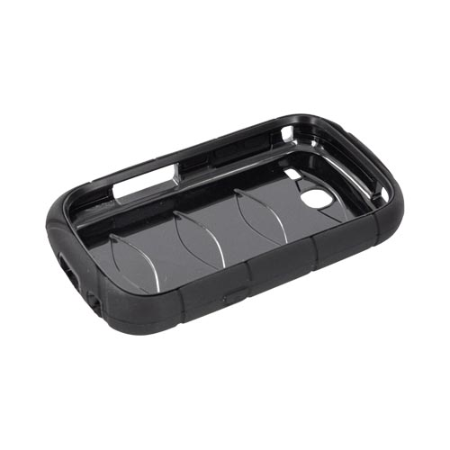 Samsung Freeform 3 Silicone Over Hard Case - Black