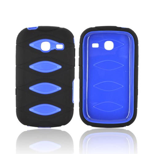 Samsung Freeform 3 Silicone Over Hard Case - Blue/ Black