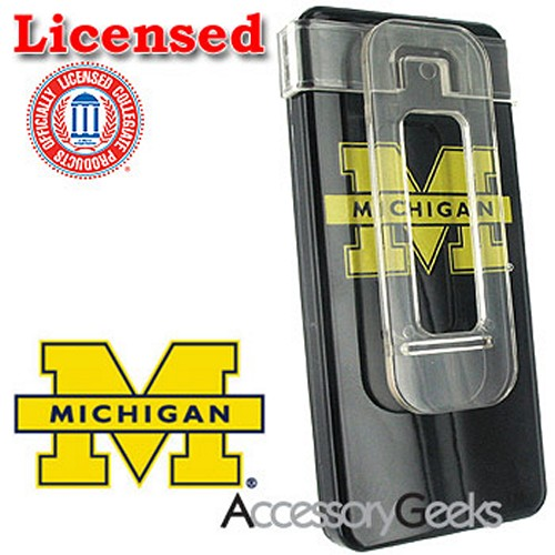 NCAA Licensed iPod Nano College Michigan Wolverines Hard Protective Case