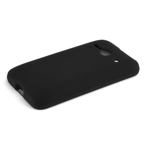 One Touch Evolve 2 Case, [Black ] Slim Grip Rubberized Hard Plastic Case for Alcatel One Touch Evolve 2