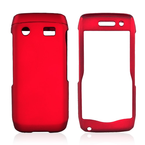 Blackberry Pearl 3G 9100/9105 Rubberized Hard Case - Red