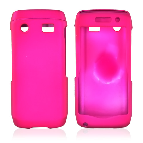 Blackberry Pearl 3G 9100/9105 Rubberized Hard Case - Rose Pink