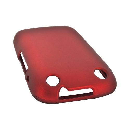 BlackBerry Curve 9310/9320 Rubberized Hard Case - Red