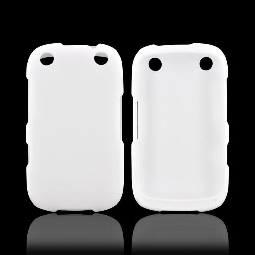BlackBerry Curve 9310/9320 Rubberized Hard Case - White