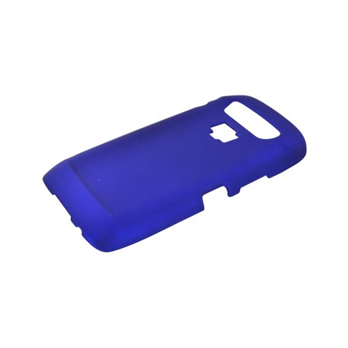 Blackberry Torch 9850 Rubberized Hard Case - Blue