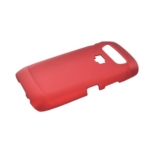 Blackberry Torch 9850 Rubberized Hard Case - Red