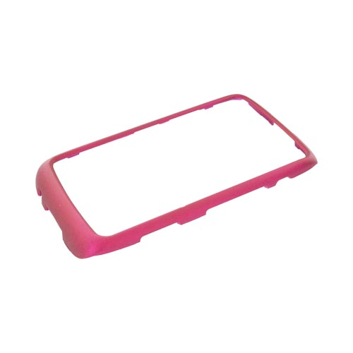 Blackberry Torch 9850 Rubberized Hard Case - Rose Pink