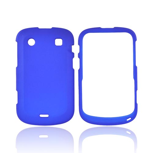 Blackberry Bold 9900, 9930 Rubberized Hard Case - Blue