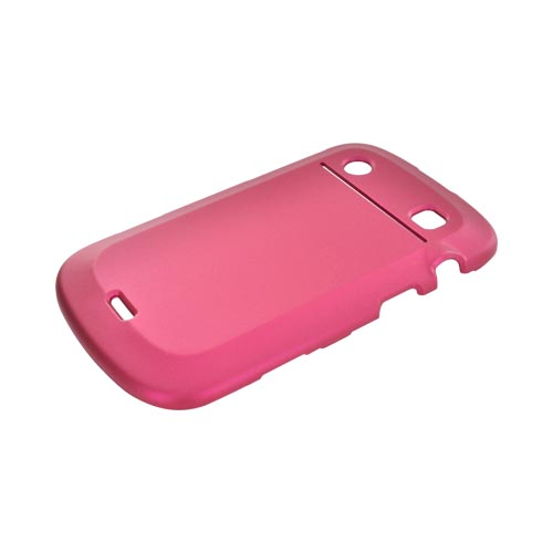 Blackberry Bold 9900,9930 Rubberized Hard Case - Rose Pink