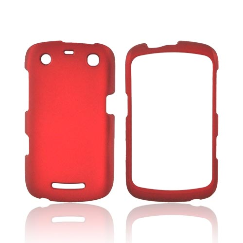 Blackberry Curve 9360/ Apollo Rubberized Hard Case - Red