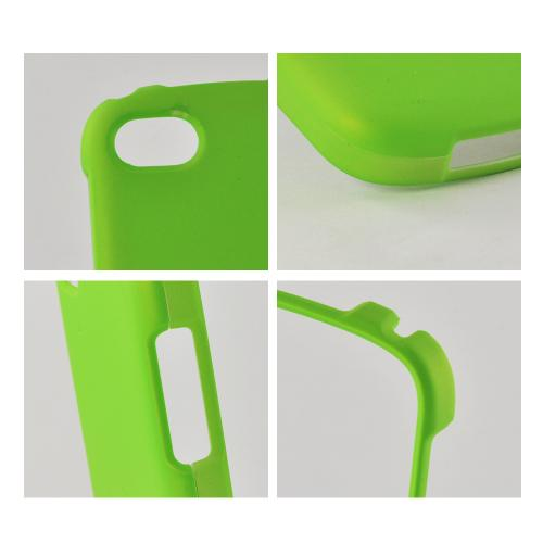 Neon Green Rubberized Hard Case for Blackberry Q10