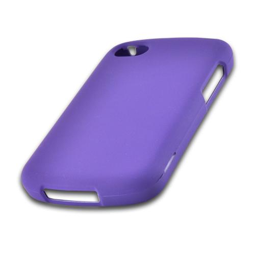 Purple Rubberized Hard Case for Blackberry Q10