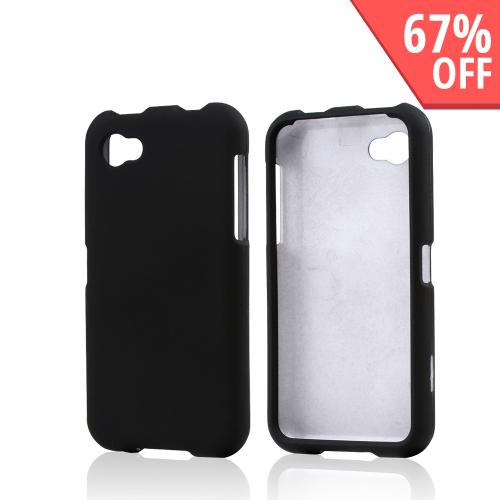 Black Rubberized Hard Case for HTC First