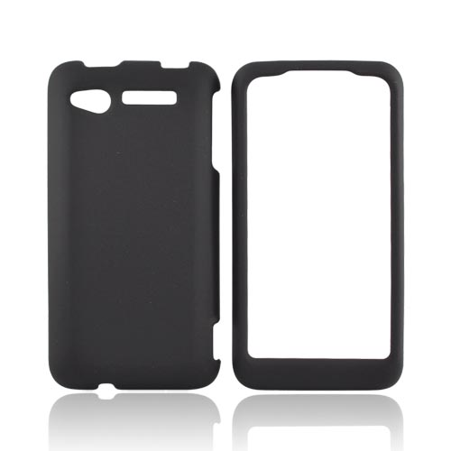 HTC Merge 6325 Rubberized Hard Case - Black