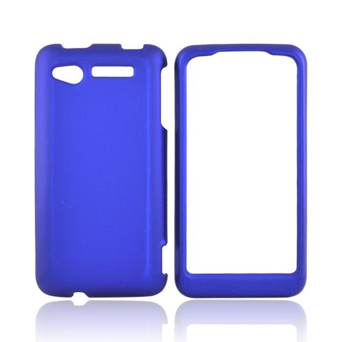 HTC Merge 6325 Rubberized Hard Case - Blue