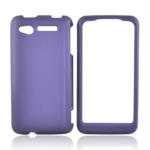 HTC Merge 6325 Rubberized Hard Case - Purple