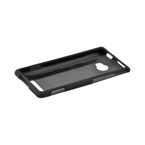 HTC 8X Rubberized Hard Case - Black