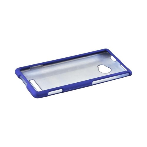 HTC 8X Rubberized Hard Case - Blue