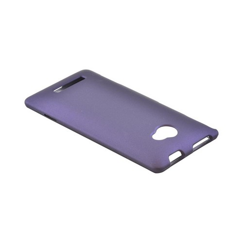 HTC 8X Rubberized Hard Case - Purple