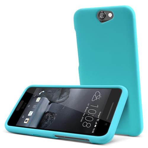 HTC One A9 Case,  [Mint]  Slim & Protective Rubberized Matte Finish Snap-on Hard Polycarbonate Plastic Case Cover