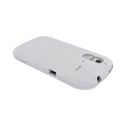 HTC Amaze 4G Rubberized Hard Case - Solid White