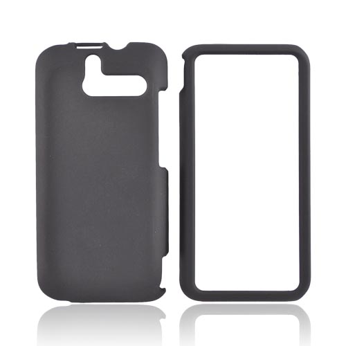 HTC Arrive Rubberized Hard Case - Black