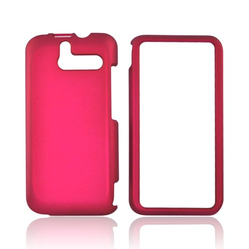 HTC Arrive Rubberized Hard Case - Rose Pink