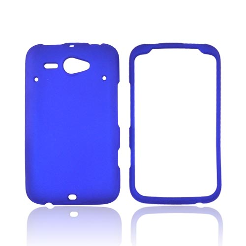 HTC Status Rubberized Hard Case - Blue