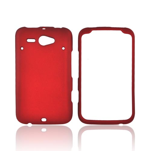 HTC Status Rubberized Hard Case - Red