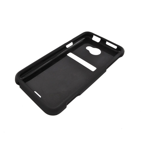 HTC EVO 4G LTE Rubberized Hard Case - Black